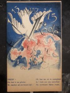 Mint Netherlands WW 2 Picture Patriotic Postcard Peace For All