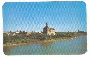 The Bessborough Hotel And Part Of The Buisness District, Saskatoon, Saskatche...