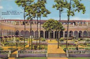 Florida Sarasota Main Court Ringling Museum Of Art