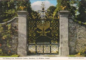 Ireland The Bamberg Gate Powerscourt Gardens Enniskerry Wicklow