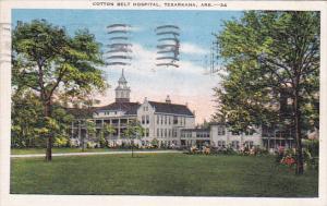 Cotton Belt Hospital, TEXARKANA, Arkansas, PU-1943