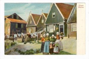 Kids , Eiland Marken ,  Netherlands, 1890s-1905