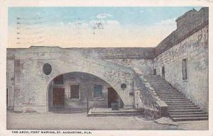Florida Saint Augustine The Arch Fort Marion 1921