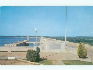Pre-1980 DAM SCENE Grand Lake Towne - Near Ketchum & Disney & Vinita OK AF5784