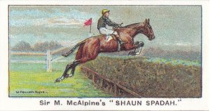 Shaun Spadah 1923 Turf Horse Racing Cigarette Card