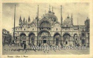 Chiesa S Marco Venezia, Italy 1921