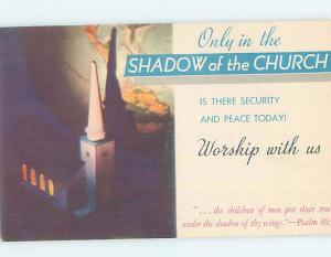 1940's OAKDALE COVENTRY CHURCH Chicago Illinois IL G4130