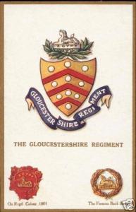 UK Military Badges, The Gloucestershire Regiment 1910s