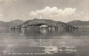 RP; Lago de Patzcuaro , Mexico , 30-40s ; Janitzio