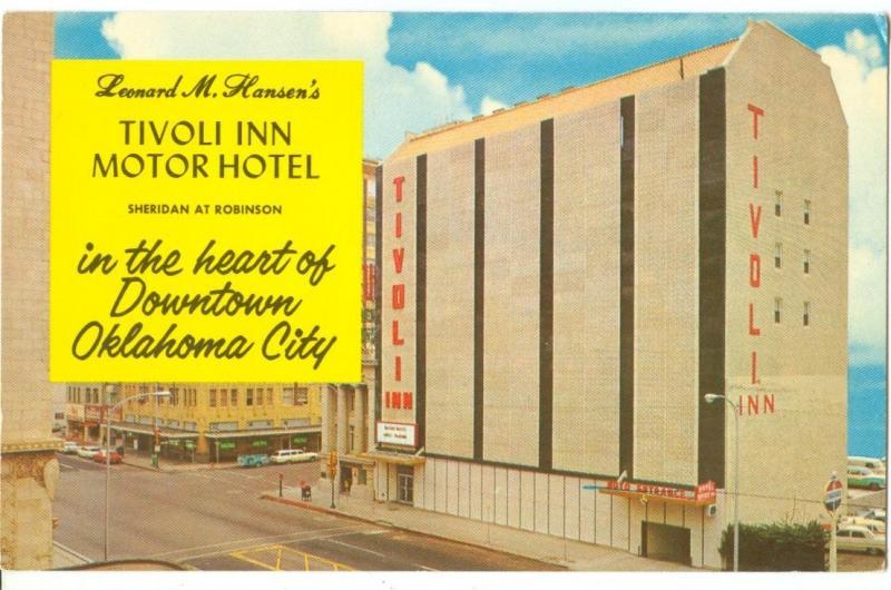 Tivoli Inn Motor Hotel, Downtown Oklahoma City, 1960s