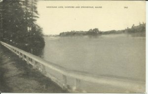 Mousam Lake, Sanford And Springvale, Maine