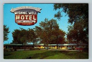 LaGrange IL, Wishing Well Motel, Chrome Illinois Postcard