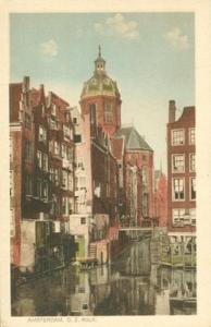 Holland, Netherlands, Amsterdam, O. Z. Kolk, early 1900s ...