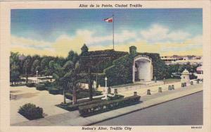 Altar de la Patria , Ciudad Trujillo , Republica Dominicana , PU-1954