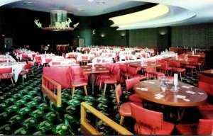 Illinois Chicago Congress Hotel New Glass Hat Supper Club