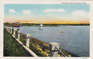 Oklahoma Shawnee Scene On Shawnee Lake Curteich