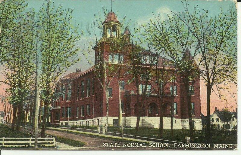 Farmington, Maine, State Normal School
