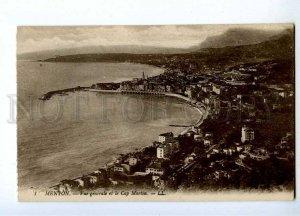 191373 FRANCE MENTON Cap Martin Vintage postcard