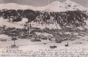 DAVOS , Platz , Switzerland , PU-1900
