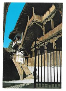 Croatia Zagreb Monastery S Jovan Bigorski Old Hostel Vintage Postcard