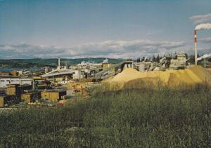 Crown Zellerbach Paper Mill , Elk Falls Division , Campbell River , B.C. , Ca...