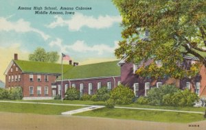 MIDDLE AMANA , Iowa, 1900-10s; Amana High School, Amana Colonies