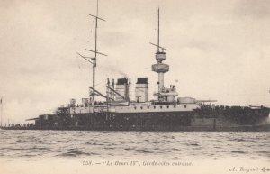 Warship : Le Henri IV , France , 1900-10s