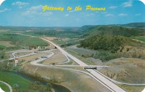 Gateway to the Poconos - Pennsylvania Turnpike at Mahoning Valley Interchange