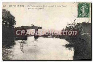 Postcard Old War 1914 Pont Saint Maximin