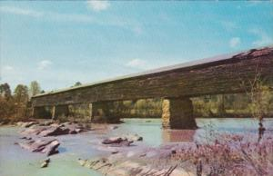 Covered Bridge At Horseshoe Bend Alexander City Alabama