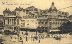 Theatre lyrique flamand et Grand Hotel Anvers, Belgium Unused