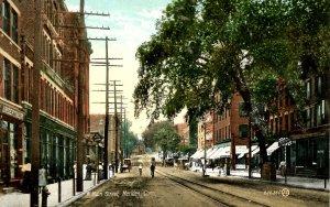 CT - Meriden. West Main Street