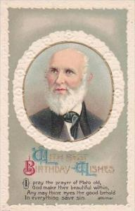 Birthday Greetings Whittier Embossed Literature Series