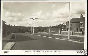 lancs, HORWICH, Chorley New Road, Lever Park 1950s RPPC