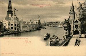 CPA PARIS EXPO 1900 Le Palais des Armees de Terre et de Mer (576306)