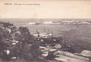 MALTA - Entrance to Grand Harbour, 00-10s