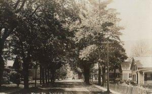 RP: LUDLOW , Vermont, 1900-10s ; Main Street