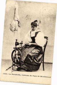CPA La Diaichotte Costume du Pays de MONTBÉLIARD (183101)