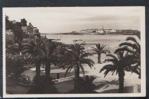 France Postcard - Dinard - La Palmeraie, Au Fond St-Malo   T10033