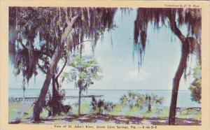 Florida Green Cove Springs View Of Saint Johns River