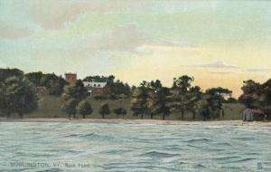 BURLINGTON, Vermont, 00-10s; Rock Point, TUCK # 5845