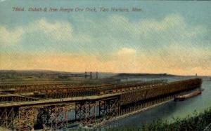 Duluth and Iron Range Ore Dock Two Harbor MN Unused