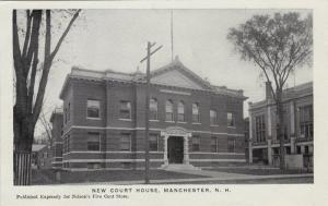 Exterior, New Court House,Manchester,New Hampshire,00-10s