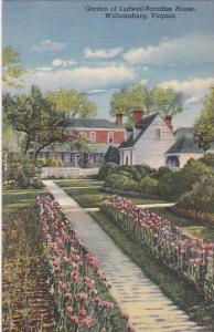 Virginia Williamsburg  Gardens Ofr Ludwell Paradise House