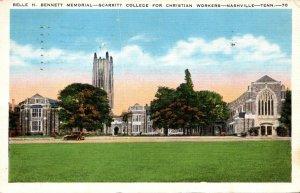 Tennessee Nashville Belle H Bennett Memorial Scarritt College For  Christian ...