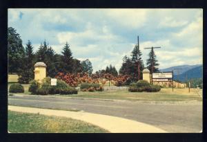 Oteen, North Carolina/NC Postcard, Entrance To Veterans Administration Hospital