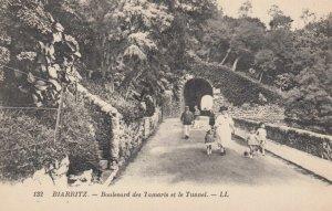 BIARRITZ, France, 1900-10s; Boulevard des Iamaris et le Tunnel