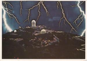 Night Lightening Storm , Kitt Peak National Observatory , TUCSON , Arizona , ...