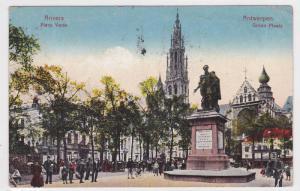 Place Verte, Anvers (Antwerpen), Belgium, PU-1924