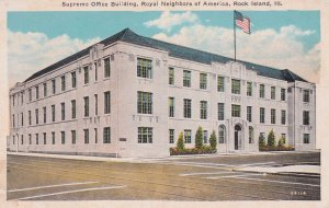 ROCK ISLAND, Illinois, 1900-10s; Supreme Office Bldg, Royal Neighbors of America